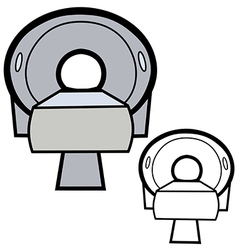 Ct scanner vector