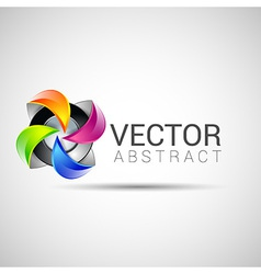 Abstract logo template set icons for any type of vector