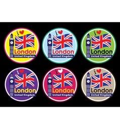 London badge vector