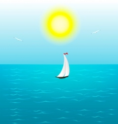Summer sail vector