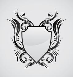 Shield ornamental vector