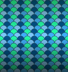 Seamless fish scale pattern background vector