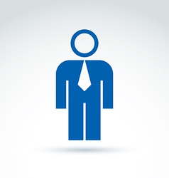 Silhouette of person standing in front - of vector