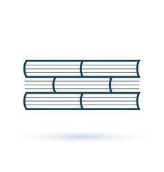Read books concept icon vector