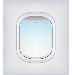 Window airplane 03 vector