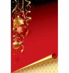 Christmas & new-year's greeting card vector