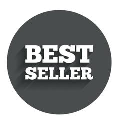 Best seller sign icon best seller award symbol vector