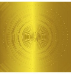Abstract background technology circles golden vector