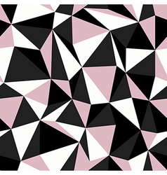 Pink seamless triangle vector