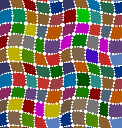 Patch seamless pattern vector