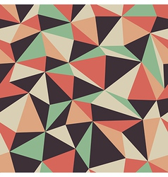 Retro triangle pattern seamless vector