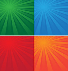 Background colored beams vector
