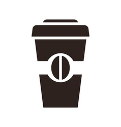 Coffee to go icon vector