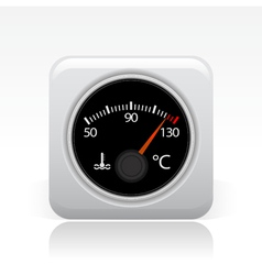Temperature icon vector