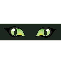 Cats eyes vector