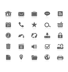 Black icons - web vector