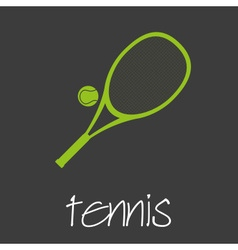 Tennis sport commercial design banner and vector