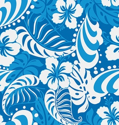 Hibiscus abstract tropical vector