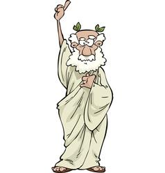 Greek philosopher vector