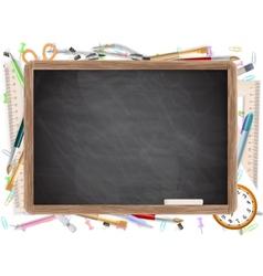 Black desk with copyspace eps 10 vector