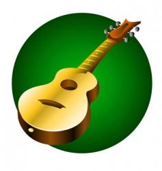 Guitar music instrument vector