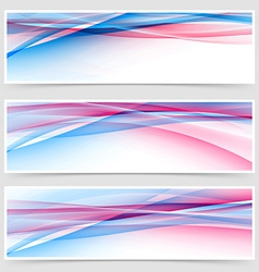 Dynamic speed line web bright header collection vector
