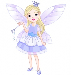 Little fairy vector