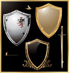 Shield - set vector