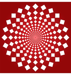 Spiral squares vector