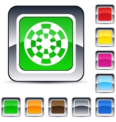 Target square button vector