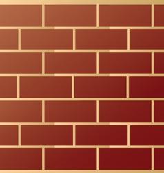 Brick modern wall pattern vector