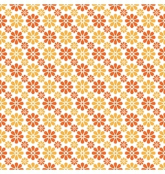 Autumn seamless pattern endless texture vector