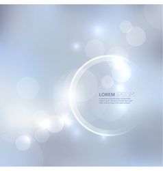 Abstract background with light and bright spots vector