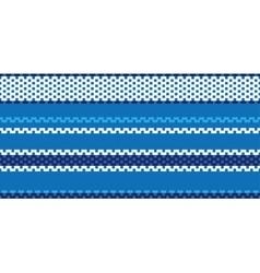 Fabric stitch seamless pattern vector