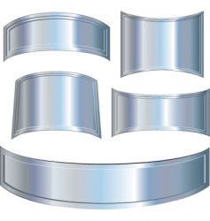 Armor plates vector