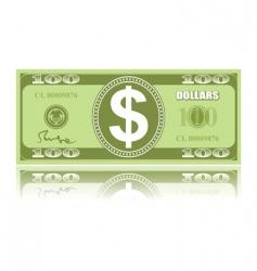 Dollar vector