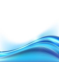 Blue modern folder background line layout border vector