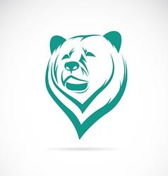 Image of an bear head vector
