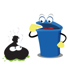 Funny waste and a bin vector