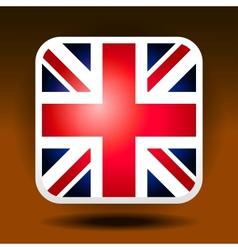 England flag ios icon style vector