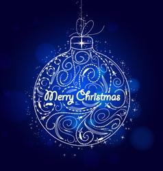 Christmas ornament vector
