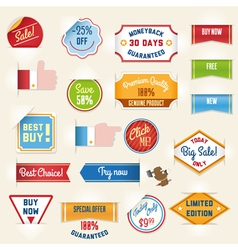 Sale labels set2 vector