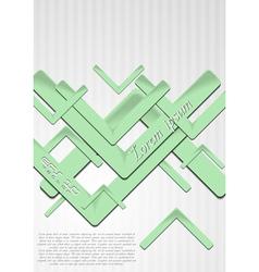 Bright green hi-tech backdrop vector