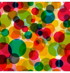 Abstract glossy circle seamless pattern background vector