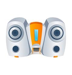 Icon audio vector