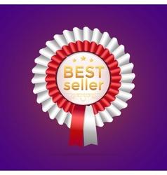 Best seller badge vector