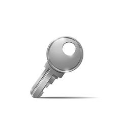 Metal key vector