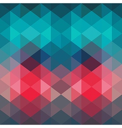 Spectrum geometric background made of triangles vector