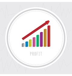 Profit chart2 vector
