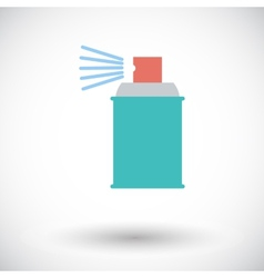 Spray with chemicals vector